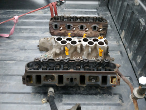 Wanted GT40 or EXPLORER INTAKE AND OR HEADS!!