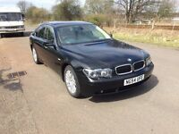 BMW 7 Series 3.0 730d SE 4dr- DIESEL, AUTOMATIC, FULL LEATHER, HEATED FRONT AND REAR, 12 Months MOT