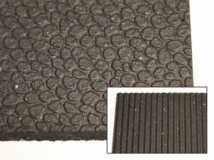 "4' x 6' x 1/2"" Multipurpose Industrial Rubber Mats"