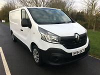 2014 64 RENAULT TRAFIC 1.6DCI LL29 TOP SPEC BUSINESS MODEL SAT NAV AIR CON