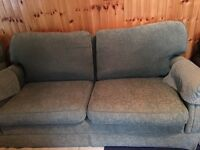 Free large green sofa and chair
