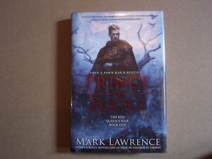 PRINCE OF FOOLS MARK LAWRENCE 1st/1st US edition signed by autho