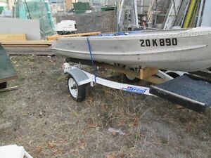 Clean 12' Fishing boat, Trailer and 6hp merc. motor
