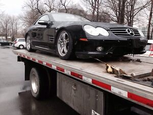 TOWING AND FLATBED SERVICES - DAMAGE FREE, FLAT RATE