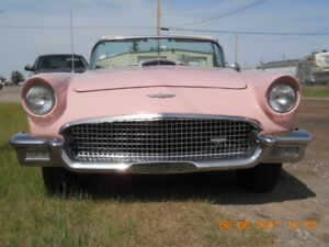 1957 Thunderbird Rare Dusk Rose Color