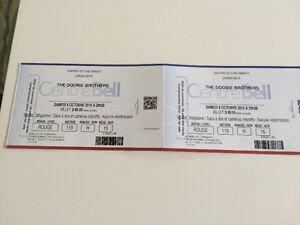 THE DOOBIE BROTHERS CENTRE BELL 8 OCTOBRE 2016