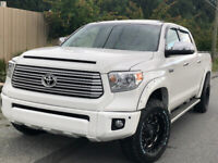 2017 TOYOTA TUNDRA CREWMAX PLATINUM LOW KMS