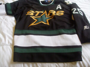 chandail de hockey des Stars de Dallas de Joe Nieuwendyk