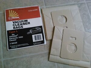 Vaccuum cleaner bags, 50 cents each.