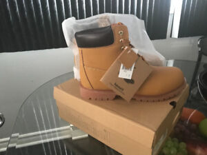 Men's Beige Classic Timberland Boots