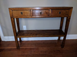 Immaculate Condition - Reclaimed Wood Accent/Side Table