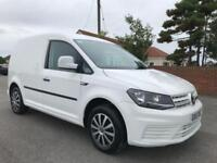 2016 16 VOLKSWAGEN CADDY 2.0 C20 TDI STARTLINE 101 BHP DIESEL IN CANDY WHITE