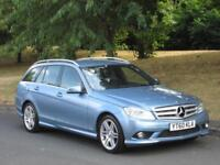 Mercedes-Benz C220 2.1CDI Blue F auto 2010 CDI Sport FMBSH + LOVELY EXAMPLE