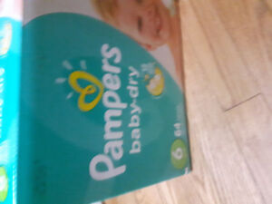 Brand new pack of size 6 pampers