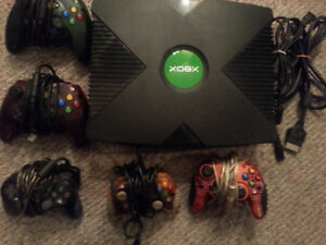 Original X-Box System & 12 games