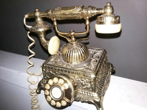For sale vintage phone real brass.still available too.