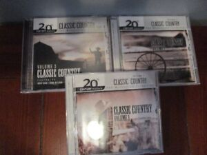 34 Classic Country tunes on 3 Compact Discs for only $5.00