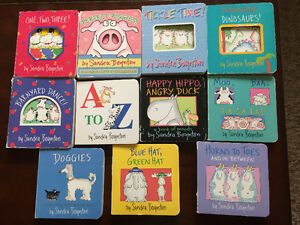 Assortment of children's board books