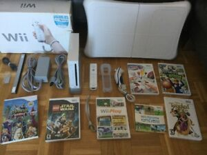 Wii - Wii Fit - Jeux pour tous Star Wars - Tangled - Sports..