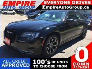 2016 CHRYSLER 300 RWD * LEATHER * REAR CAM * BLUETOOTH * LOW KM