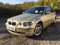 BMW 325 2.5 2002MY ti SE Compact