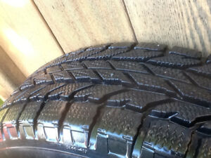 BF Goodrich Winter Slalom 195/65/15 Tires