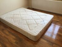 Kingsize mattress medium firm. Hypo allergenic turnable Sleep Sanctuary