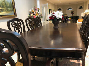 High End Executive Family Dinning Table Never Used