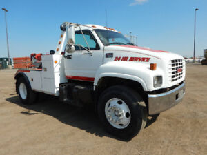 2001 GMC C7500 S/A Tow Truck For Sale