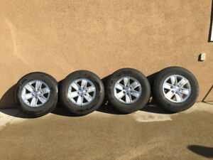 4 Premium Tire and Rims - All Season for Trucks