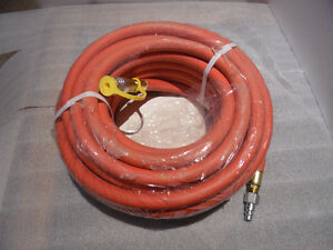"""3M L.P. Air Hose 1/2"""" ID x 50 Ft 3/8"""" Brass Fittings Brand New Kitchener / Waterloo Kitchener Area image 6"""