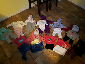 11 girls outfits (6 month)
