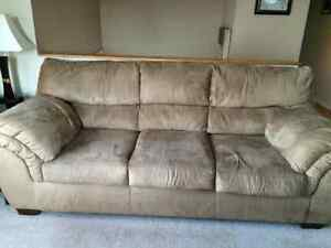 MOVING MUST GO.. Coach, Chair and Ottoman for sale