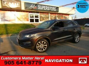 2015 Lincoln MKC Select  AWD NAV CAM HEATED SEATS MEMORY