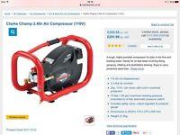 Clarke champ 2 compressor