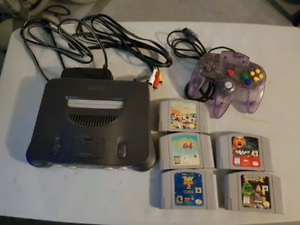 N64, Controller and 5 games