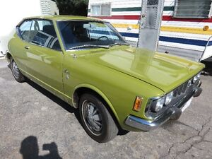 CLASSIC 1972 TOYOTA CORONA SURVIVOR CAR ALL ORIGINAL WORKING