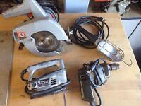 Older Black & Decker power tools
