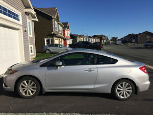 2012 Honda Civic EX Coupe (2 door)