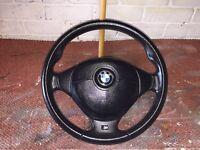BMW e36 steering wheel