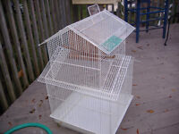 Large canary, finch or budgie cage