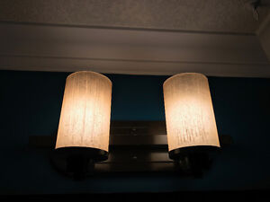 2 light bathroom vanity fixture