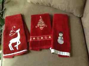 CHRISTMAS TOWELS Peterborough Peterborough Area image 2