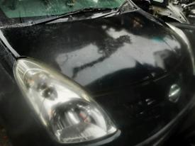 Nissan Pixo bonnet black