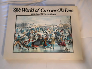 """Large book """"The World of Currier & Ives"""""""