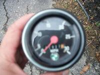 Moped speedometer
