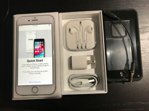 Like New iPhone 6 - 16GB with new Earphones/Cable/Charger + Case