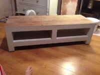 Solid oak tv unit (project)