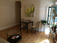 Room Sublet in Beautiful Apt with 2 balconies; NDG Vendome Metro