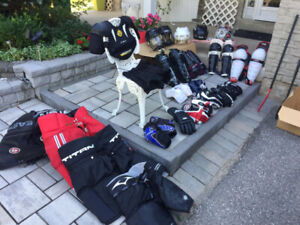Variety of Hockey Equipment ALL FOR SALE!!! (Condition:6/10)